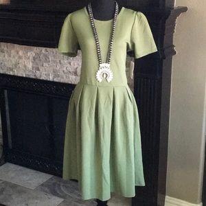 Sage Green Lularoe Amelia Dress